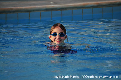 Swimming in the pool at Ledra Marriott in Athens Greece.