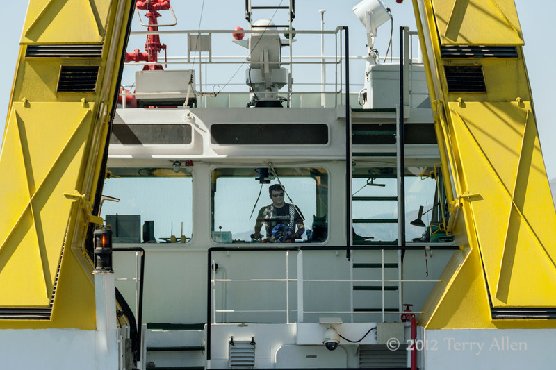 Tug-boat-captain,-near-Athens,-Greece