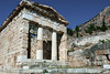Treasury-of-the-Athenians,-Delphi,-Greece