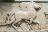 Horse-frieze,-Delphi-Museum,-Greece