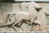 Horse-frieze,-Delphi-Museum,-Greece
