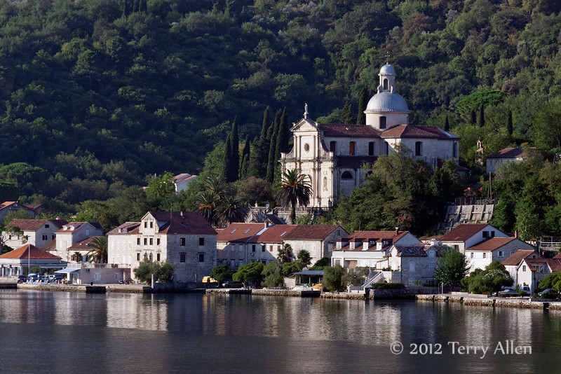 Our Lady's Temple,-Prcanj,-Kotor-Bay,-Montenegro