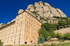 We will soon ride the cable car to the top of Montserrat.