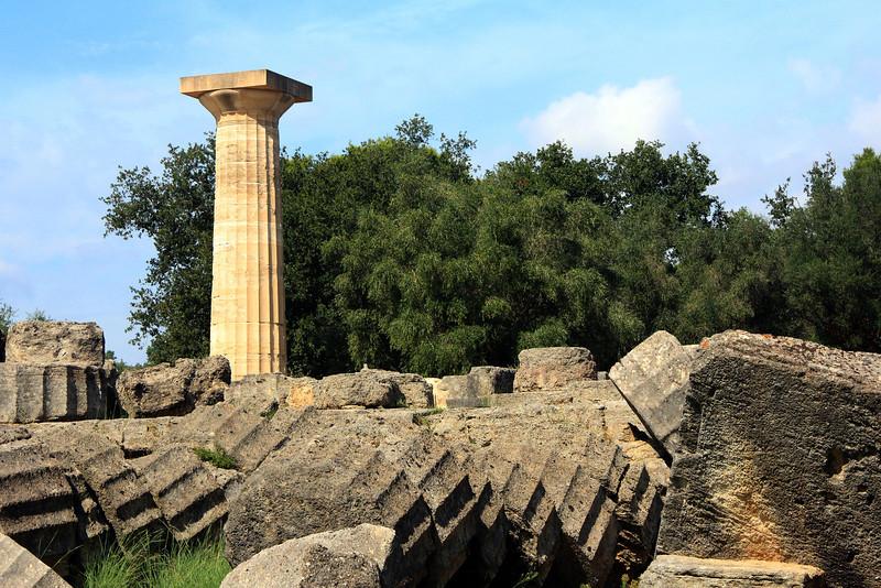 Olympia - Temple of Zeus