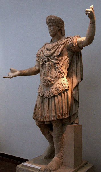 Olympia Museum - Statue from Temple of Hera (Roman Period)