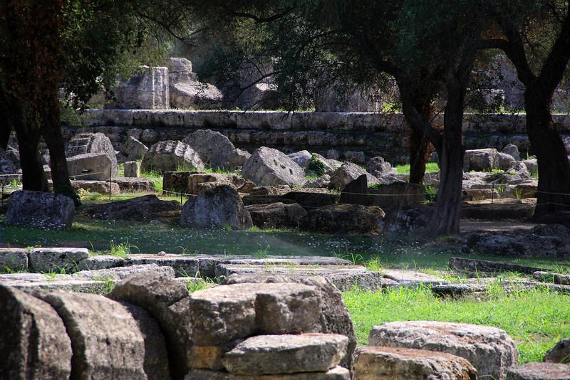 Olympia - Looking toward Temple of Zeus