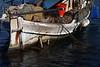 Working Boat, Folded Nets