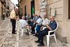 Local-men-Erice, Sicily