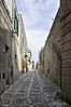 Cobblestone-street,-Erice, Sicily