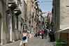 Erice main street, Sicily