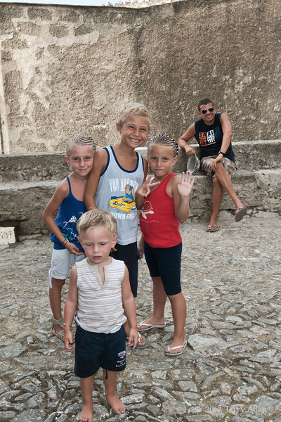 Children-in-Erice, Sicily