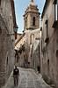 Street-scene,-Erice, Sicily