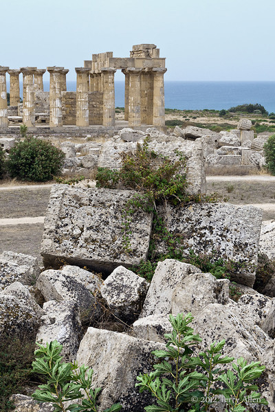 Temple-E-&-ruins-of-temples-F-&-G,-Selinute,-Sicily