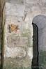 Fresco-&-column-capital,-Cripta-di-San-Marciano,-Syracuse,-Sicily