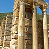 Ancient Roman ruins in Ephesus, Turkey.
