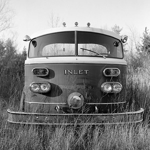 Abandoned Inlet Fire Engine, Canastota, NY. November 2006