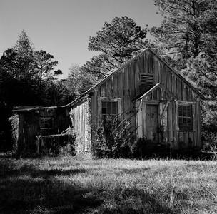 Abandoned House, Rt. 133, Wilmington, NC. November 2000