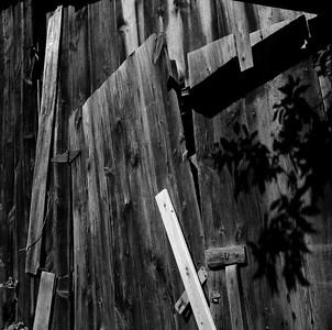 Barn Abstraction, Stockbridge, NY. September 2000