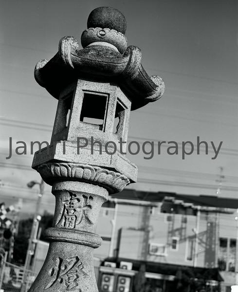 """Lantern""<br /> Mamiya RB67 - 90mm f/3.8 Lens - Marumi MC-Y2 Yellow Filter - Fuji Neopan Acros 100"