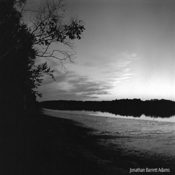 Sunset in Black & White