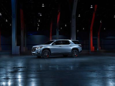 Chevrolet Traverse / CGI Rendering by Pixlhut Backplate / HDRI by Easton Chang
