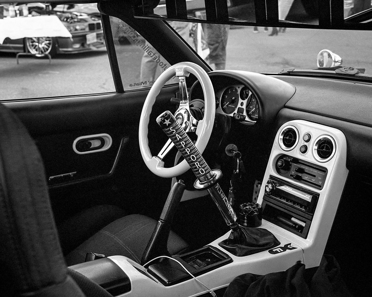 Manassas Car Show, April 2017, RZ67, Tri-X film, home processed.