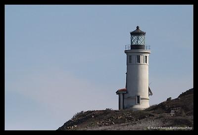 Lighthouse, Anacapa Island, Channel Islands, November 2008