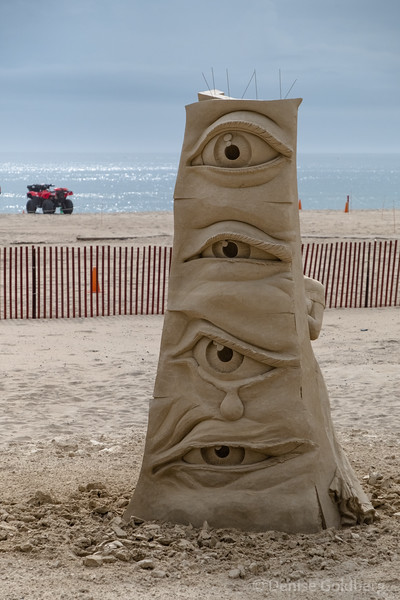 sand sculptures :: Hampton Beach 2020