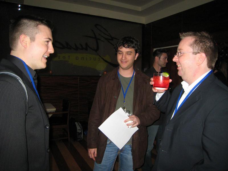 Ryan Allis, Martin Toha and myself