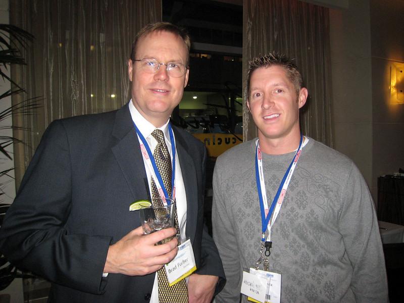 Brad Furber and Ryan Gardener