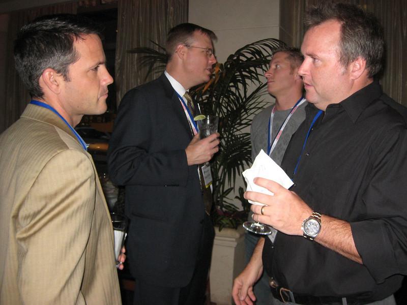 (l-r) Matt Wise, Brad Furber, Ryan Gardener and Tedd Johnson