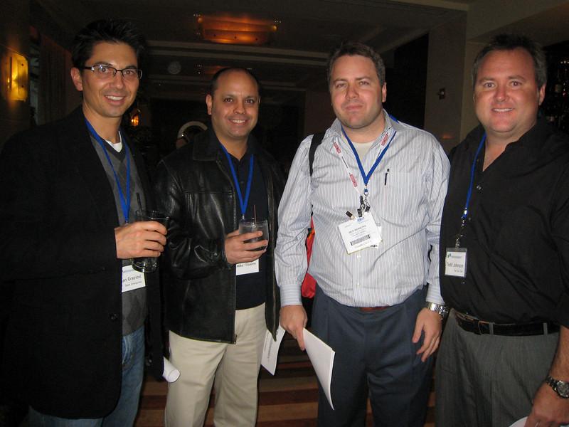 Dean Graziosi, Mike Filsaime, Ben Hoskins and Tedd Johnson