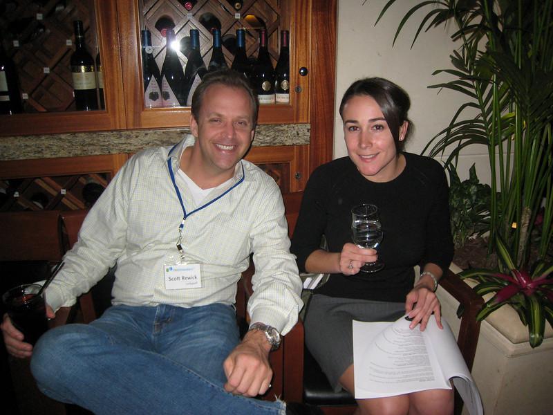Scott Rewick and Liz Lloyd