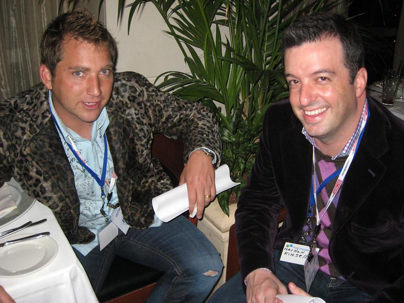 Jason Peterson and Nathan Kinsella
