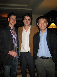 Three guys who have driven massive traffic:  Frank Addante from the Rubicon Project, Rob Jewell from Gratis and Niuniu Ji