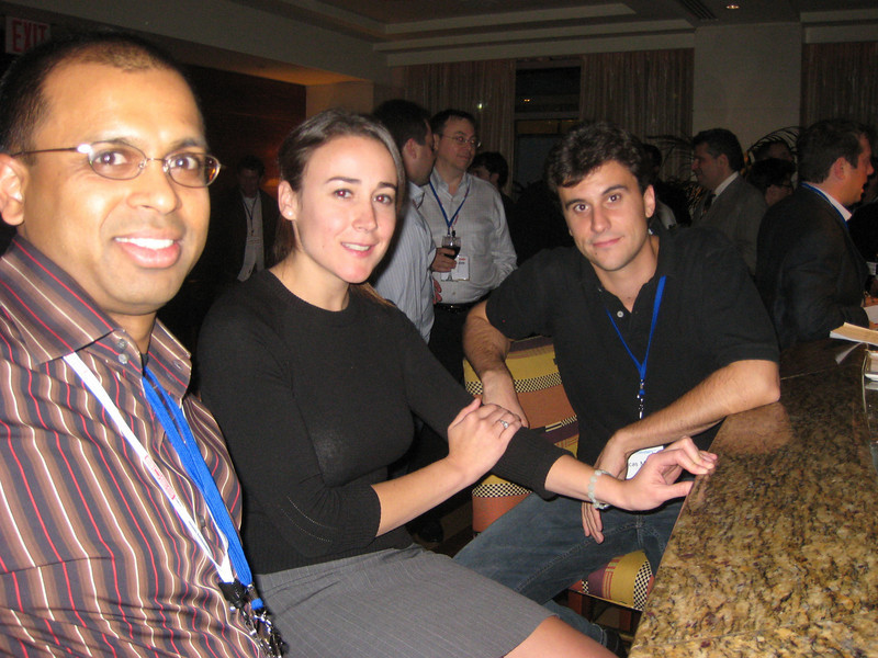 Vipul Gupta, Liz Lloyd and Lucas Morea