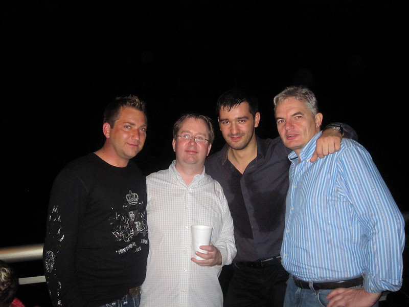 Jason Peterson, myself, Bogdan and Rob Woolford from DR1