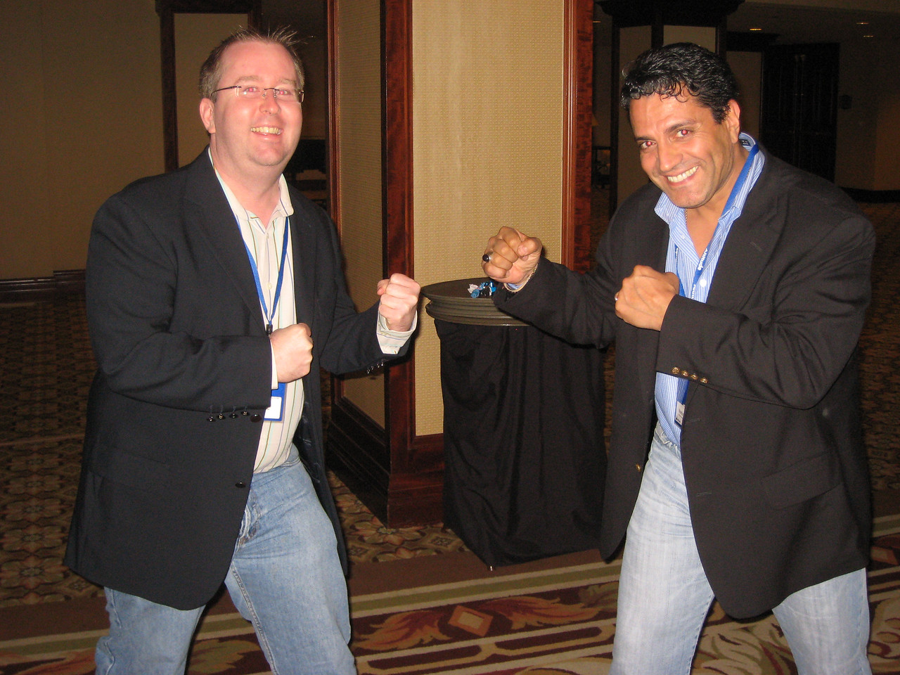 "Me picking a ""fight"" with former Mr Universe Nordine Zouareg"