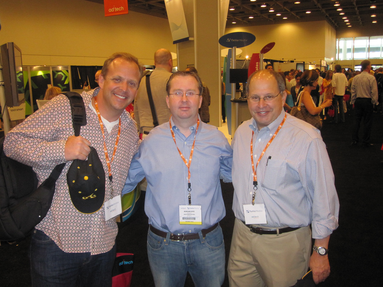 Scott Rewick, myself and Joe Abrams at Adtech SF 2009