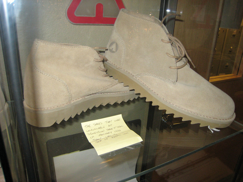 The original shoes which when they couldn't be found in a mall, inspired the formation of Zappos for ordering shoes online