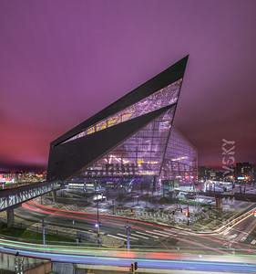 US Bank Stadium - Dramatic