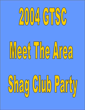 2004 GTSC Meet The Area Shag Club Party