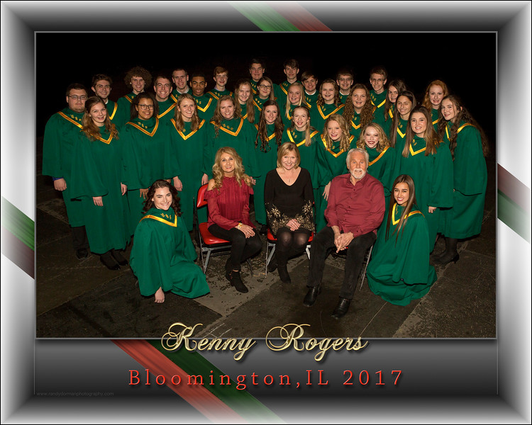 Kenny Rogers Meet & Greet Choir