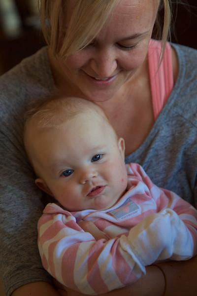 Meeting Baby Kaylin