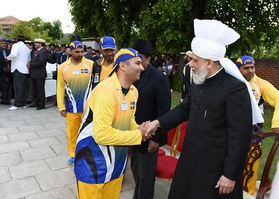 International Masroor Cricket individuals meet Huzur- Part2_ (63 of 63)