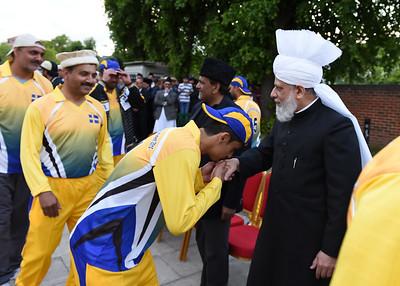 International Masroor Cricket individuals meet Huzur- Part2_ (59 of 63)