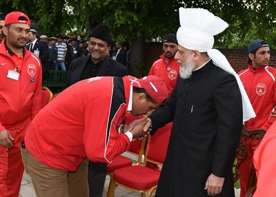 International Masroor Cricket individuals meet Huzur- Part2_ (31 of 63)