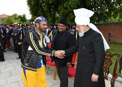 International Masroor Cricket individuals meet Huzur- Part2_ (52 of 63)
