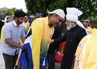 International Masroor Cricket individuals meet Huzur- Part2_ (61 of 63)