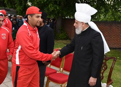 International Masroor Cricket individuals meet Huzur- Part2_ (28 of 63)